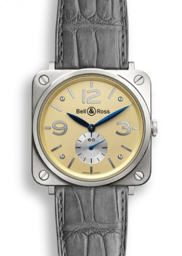 Image of Bell & Ross BR S White Gold BRSWHGOLDIVORYD