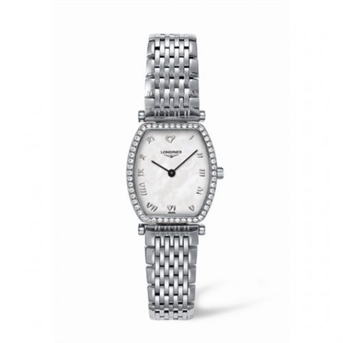 Image of Longines La Grande Classique Tonneau 22 Diamond L4.288.0.09.6