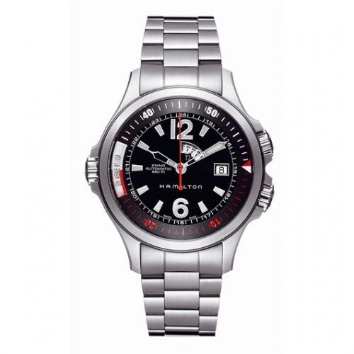 Image of Hamilton Khaki Navy GMT H77555135