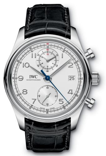 Image of IWC Portuguese Chronograph Classic Silver IW3904-03