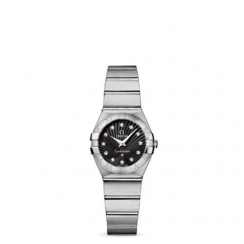 Image of Omega Constellation 24 Quartz Brushed 123.10.24.60.51.001