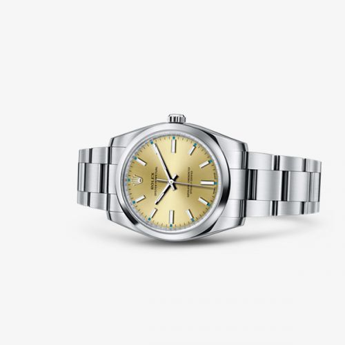 Image of Rolex Oyster Perpetual 34 Champagne 114200-0022