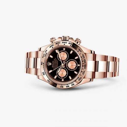 Image of Rolex Daytona Everose Black Gold 116505-0002