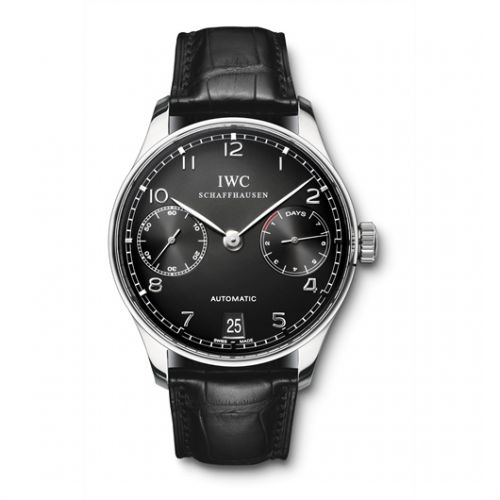 Image of IWC Portuguese Automatic Black IW5001-09