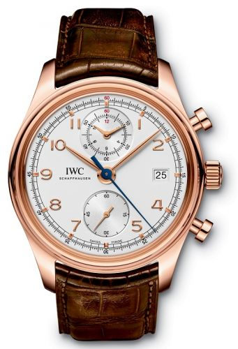 Image of IWC Portuguese Chronograph Classic Red Gold IW3904-02