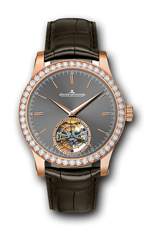 Image of Jaeger-LeCoultre Master Grand Tourbillon Pink Gold Diamond 1662451