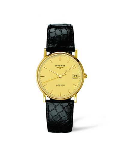 Image of Longines Presence 33 Automatic Gold L4.744.6.32.0