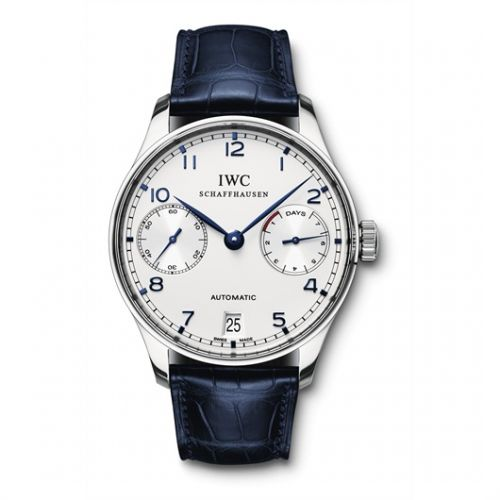 Image of IWC Portuguese Automatic Blue IW5001-07