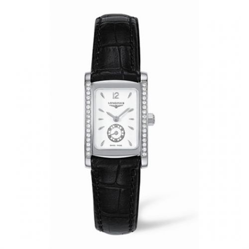 Image of Longines DolceVita 20 Quartz Stainless Steel Diamond L5.155.0.16.2