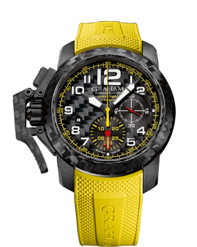 Image of Graham Chronofighter Oversize Superlight 2CCBK.B15A