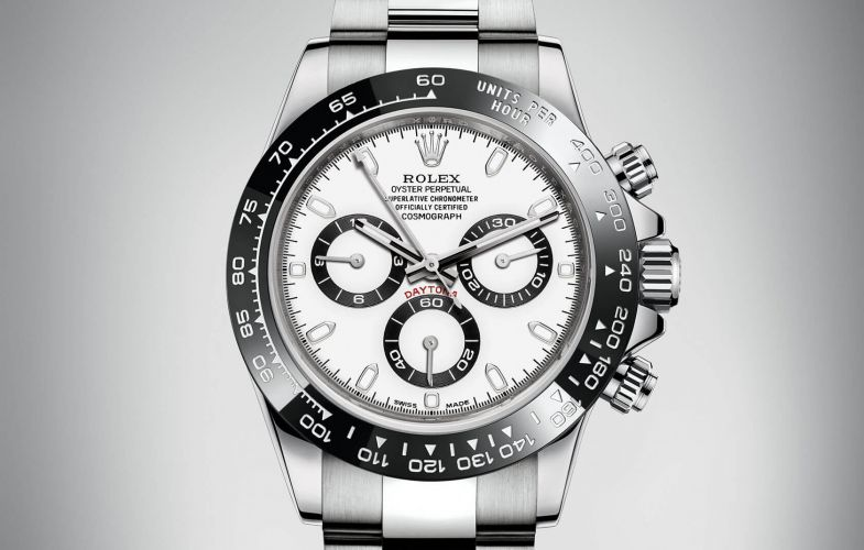 Image of Rolex Daytona Steel Ceramic White 116500ln-0001