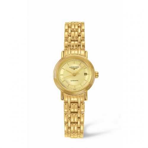 Image of Longines Presence 25.5 Automatic Yellow Stick Yellow Bracelet L4.221.2.42.8