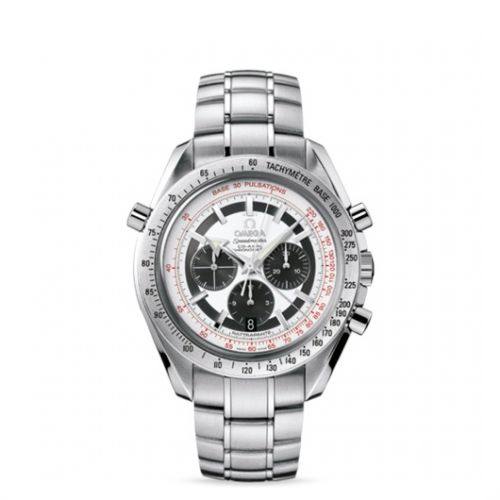 Image of Omega Speedmaster Broad Arrow Co-Axial Rattrapante Panda / Bracelet 3582.31.00