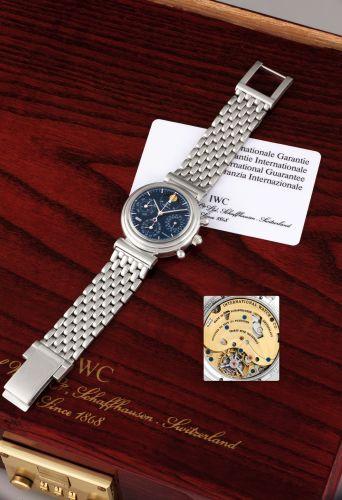 Image of IWC Da Vinci Perpetual Tourbillon Platinum English Bracelet IW3752