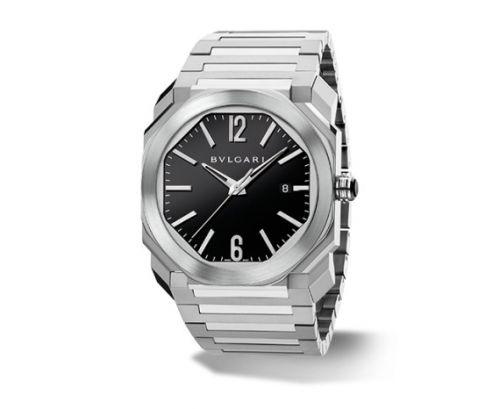 Image of Bulgari Octo Solotempo 41 Black Bracelet 102031