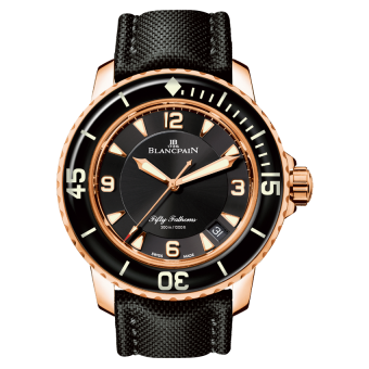 Image of Blancpain Fifty Fathoms Automatique 5015-3630-52