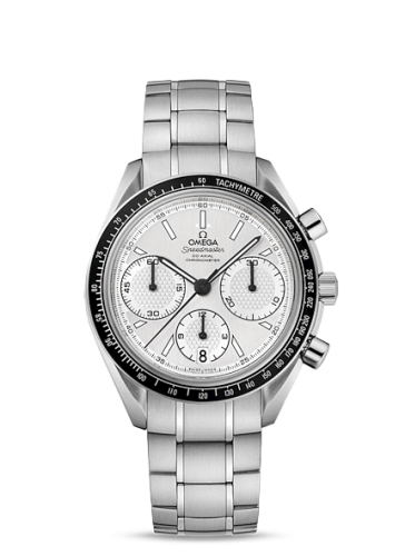 Image of Omega Speedmaster Racing Co-Axial Chronograph Silver / Bracelet 326.30.40.50.02.001
