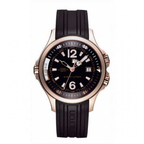 Image of Hamilton Khaki Navy GMT H77545735