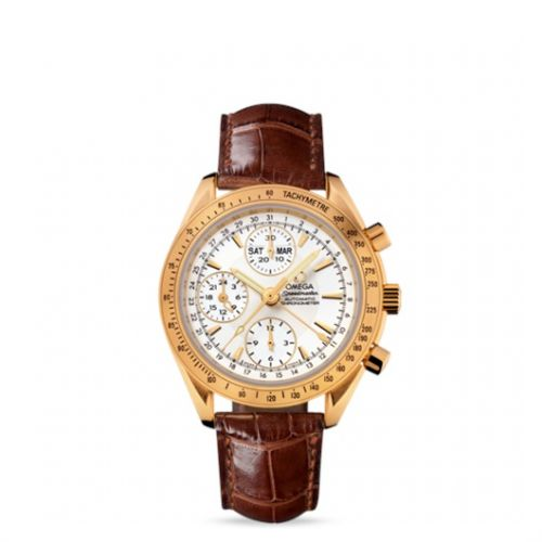 Image of Omega Speedmaster Day-Date Yellow Gold 323.53.40.44.02.001