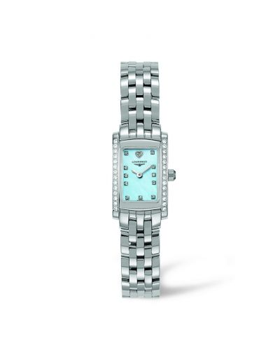 Image of Longines DolceVita 16 Quartz Stainless Steel Diamond L5.158.0.92.6