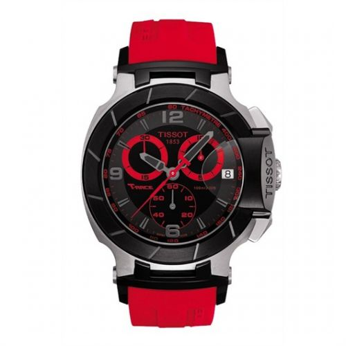 Image of Tissot T-Race Quartz Red T0484172705702