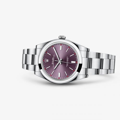 Image of Rolex Oyster Perpetual 39 Red Grape 114300-0002