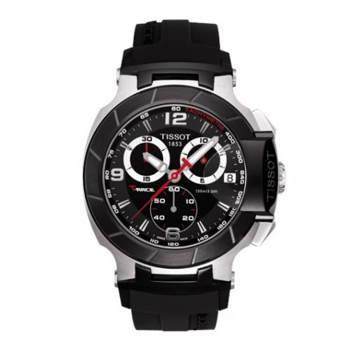 Image of Tissot T-Race Quartz Black T0484172705700