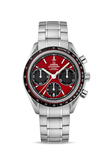 Image of Omega Speedmaster Racing Co-Axial Chronograph Red / Bracelet 326.30.40.50.11.001
