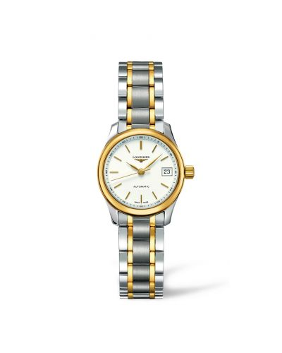 Image of Longines Master Collection Date 25.5 Two Tone L2.128.5.12.7