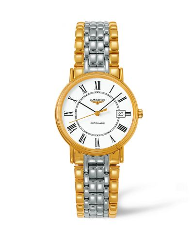 Image of Longines Presence 34.5 Automatic Yellow L4.821.2.11.7