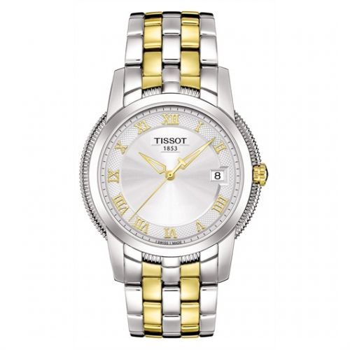 Image of Tissot Ballade III Quartz Two Tone T0314102203300