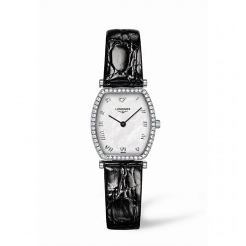 Image of Longines La Grande Classique Tonneau 22 Diamond L4.288.0.09.2