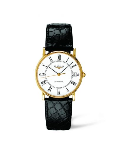 Image of Longines Presence 33 Automatic Gold L4.744.6.11.0