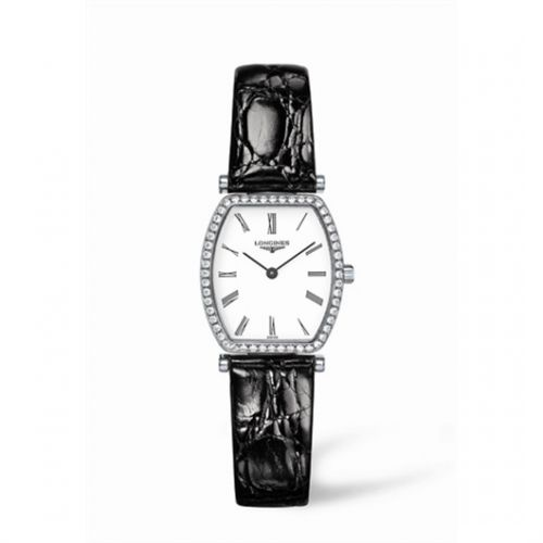 Image of Longines La Grande Classique Tonneau 22 Diamond L4.288.0.11.2
