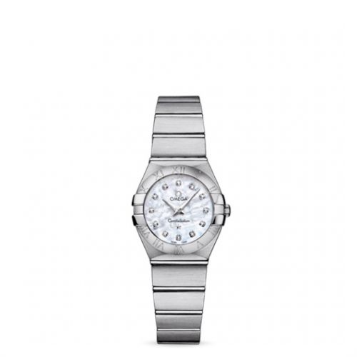 Image of Omega Constellation 24 Quartz Brushed 123.10.24.60.55.001