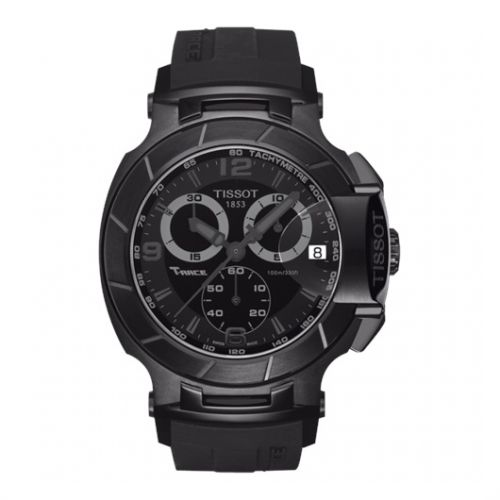 Image of Tissot T-Race Quartz Black Black T0484173705700