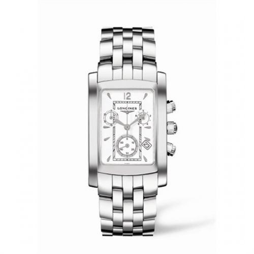 Image of Longines DolceVita 28 Quartz Chronograph Stainless Steel L5.656.4.16.6