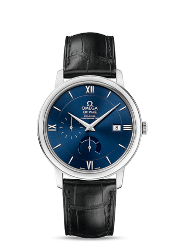 Image of Omega Deville Prestige Co-Axial Power Reserve Blue 424.13.40.21.03.001