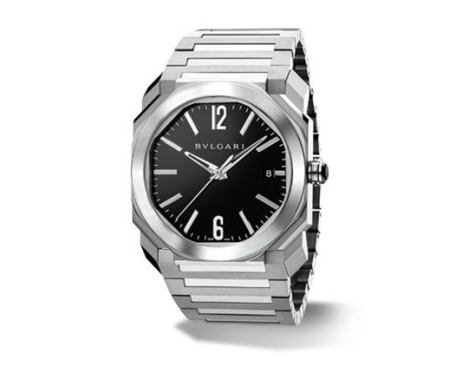 Image of Bulgari Octo Solotempo 38 Black Bracelet 102104