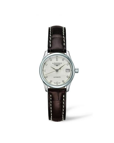 Image of Longines Master Collection Date 25.5 Stainless Steel L2.128.4.77.3
