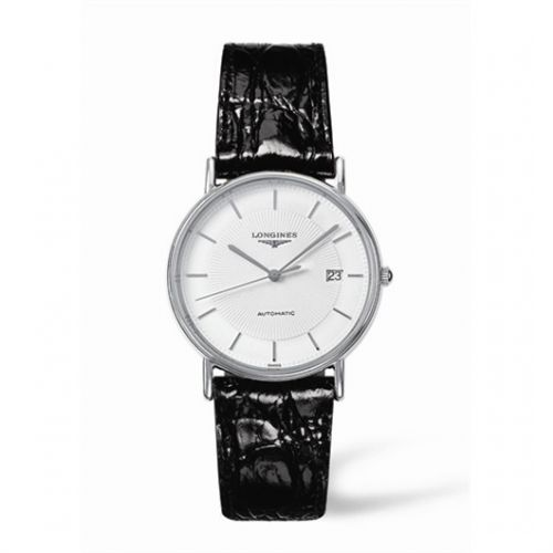 Image of Longines Presence 34.5 Automatic Stainless Steel Stick L4.721.4.18.2