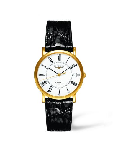 Image of Longines Presence 34.5 Automatic Gold L4.778.6.11.0