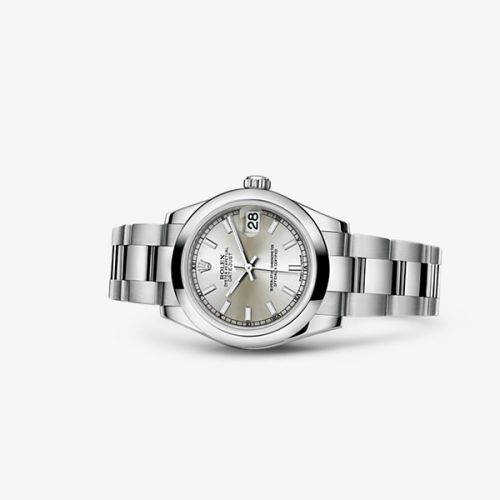 Image of Rolex Datejust 31 Oyster Silver 178240-0022
