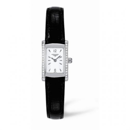 Image of Longines DolceVita 16 Quartz Stainless Steel Diamond L5.158.0.16.2