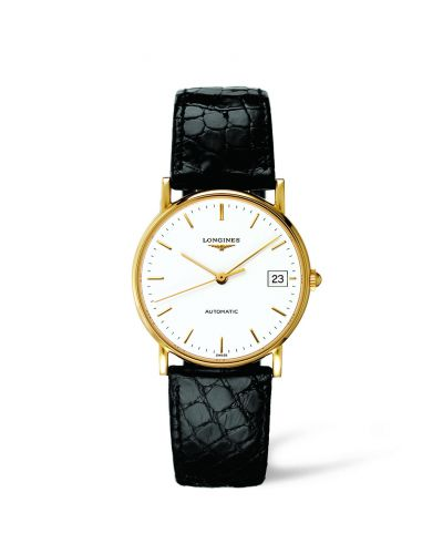 Image of Longines Presence 33 Automatic Gold L4.744.6.12.0