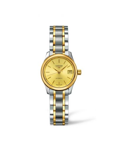 Image of Longines Master Collection Date 25.5 Two Tone L2.128.5.32.7