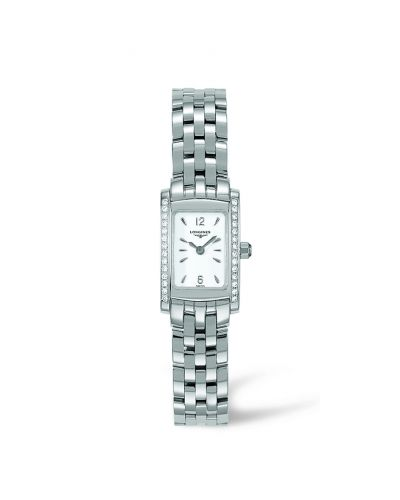 Image of Longines DolceVita 16 Quartz Stainless Steel Diamond L5.158.0.16.6