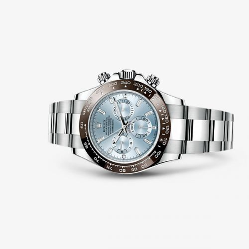 Image of Rolex Daytona Platinum Cerachrom Ice Blue Diamonds 116506-0002