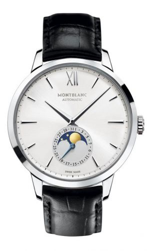 Image of Montblanc Heritage Spirit Moonphase 39mm Stainless Steel 110699